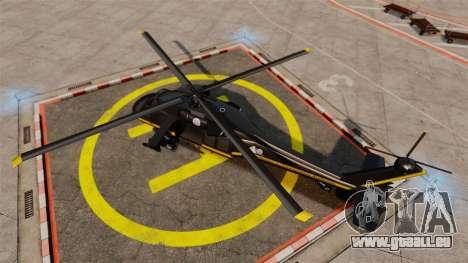 GTA V Annihilator für GTA 4 rechte Ansicht