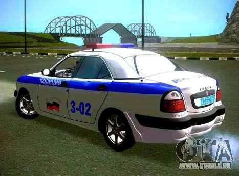 GAZ Volga 3111 DPS pour GTA San Andreas laissé vue