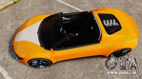 GTA V Dinka Jester HD für GTA 4 rechte Ansicht