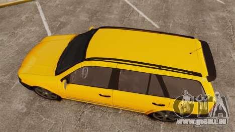 Volkswagen Parati G4 Track and Field 2013 pour GTA 4 est un droit