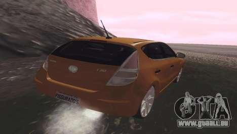 Hyundai i30 pour GTA San Andreas sur la vue arrière gauche