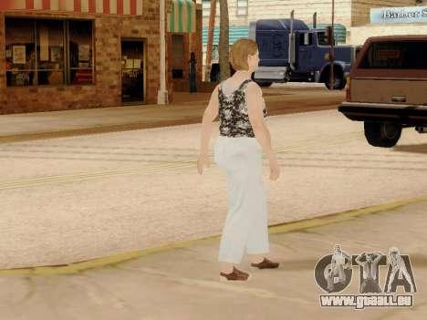 Une femme âgée v.2 pour GTA San Andreas onzième écran