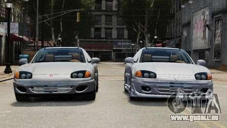 Dodge Stealth Turbo RT 1996 pour GTA 4 est une vue de l'intérieur