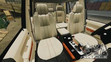 Range Rover Supercharger 2008 für GTA 4 Seitenansicht