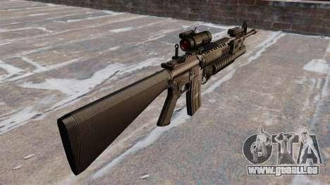 Tactique fusil M16A4 pour GTA 4 secondes d'écran