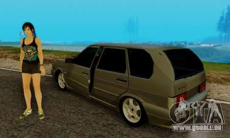 Les VASES 2115 Immobilier pour GTA San Andreas vue arrière