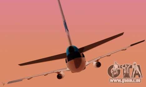 Airbus A319 KLM für GTA San Andreas Innen