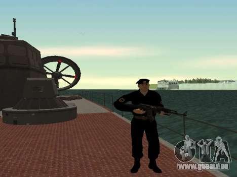 Das marine-Korps der WEHRMACHT für GTA San Andreas zweiten Screenshot