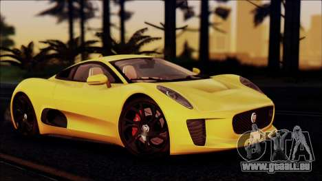 Jaguar C-X75 für GTA San Andreas rechten Ansicht
