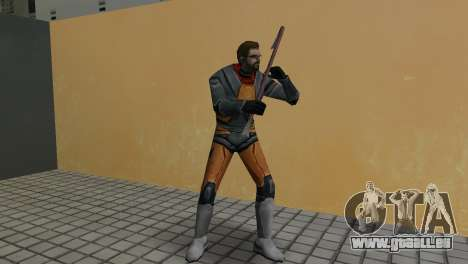 Gordon Freeman für GTA Vice City dritte Screenshot