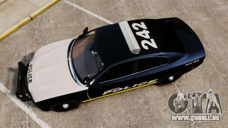 Dodge Charger 2013 LCPD [ELS] für GTA 4 rechte Ansicht