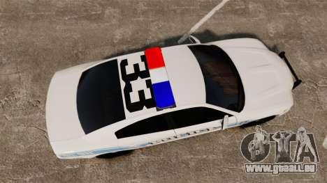 Dodge Charger 2013 Liberty Police [ELS] für GTA 4 rechte Ansicht