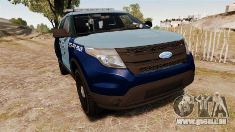 Ford Explorer 2013 MSP [ELS] für GTA 4