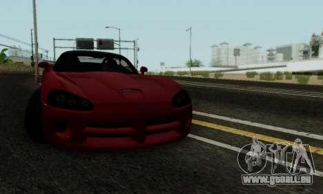 Dodge Viper SRT-10 pour GTA San Andreas vue de côté