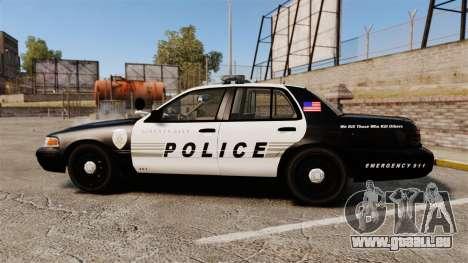 Ford Crown Victoria LCPD [ELS] pour GTA 4 est une gauche