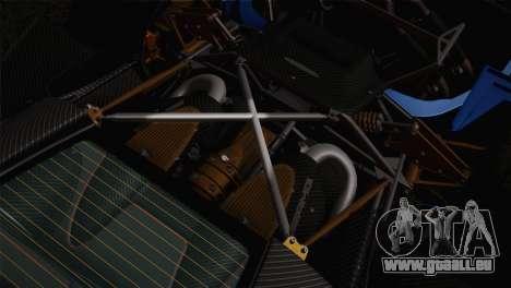 Pagani Huayra pour GTA San Andreas roue