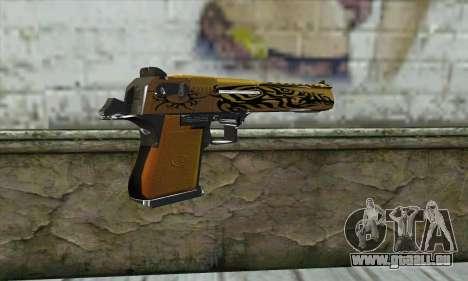 Pistolet pour GTA San Andreas deuxième écran