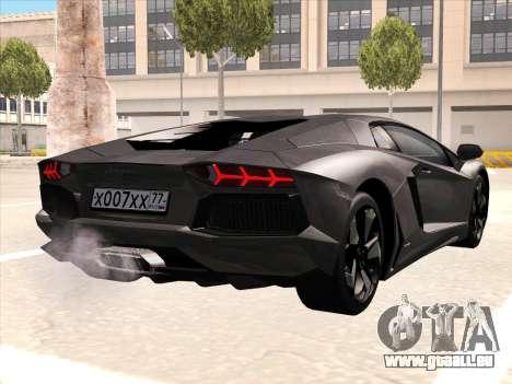 Lamborghini Aventador LP700-4 2013 für GTA San Andreas Motor