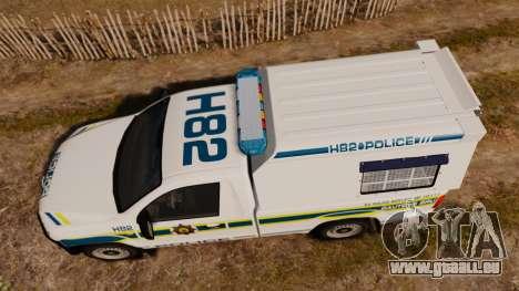 Volkswagen Amarok 2012 SAPS [ELS] für GTA 4 rechte Ansicht