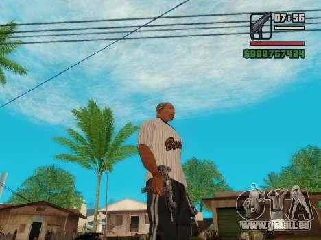 Die Maschinenpistole UZI für GTA San Andreas fünften Screenshot