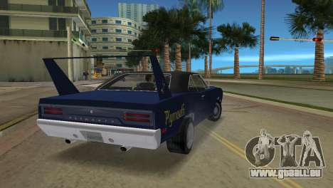 Plymouth Superbird für GTA Vice City linke Ansicht