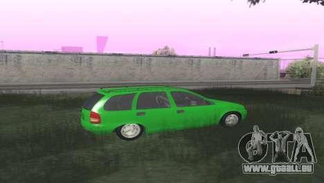 Chevrolet Corsa Wagon pour GTA San Andreas vue de droite