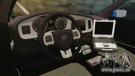 Dodge Charger 2013 Liberty County Police [ELS] für GTA 4 Rückansicht