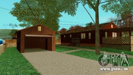 Une maison dans le village pour GTA San Andreas deuxième écran