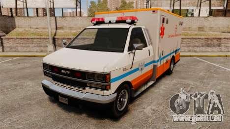 Brute LSMC Paramedic für GTA 4