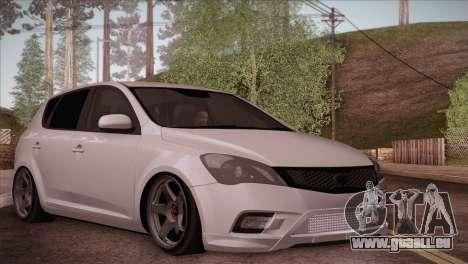 Kia Ceed 2011 pour GTA San Andreas