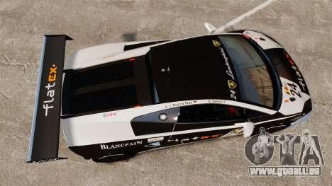 Lamborghini Gallardo LP560-4 GT3 2010 Flatex für GTA 4 rechte Ansicht