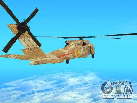 SH-60  Batik Indonesia für GTA San Andreas zurück linke Ansicht