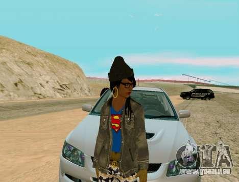 Girl Swagg für GTA San Andreas zweiten Screenshot