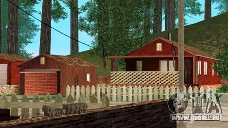 Ein Haus im Dorf für GTA San Andreas