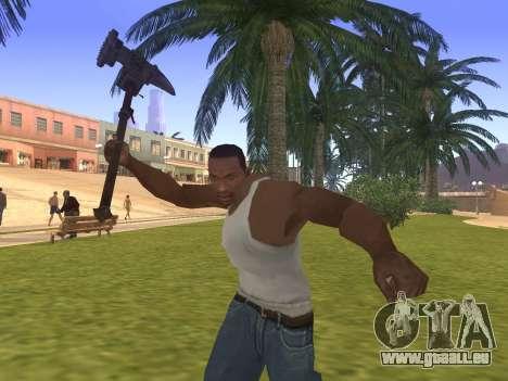 Baton Marker für GTA San Andreas dritten Screenshot