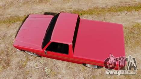Rancher Lowride für GTA 4 rechte Ansicht