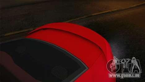 Pontiac GTO 2005 pour GTA San Andreas sur la vue arrière gauche