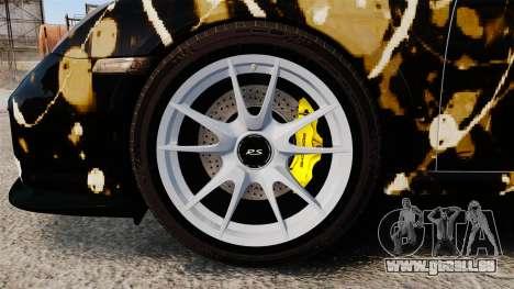 Porsche 911 GT2 RS 2012 BLOB pour GTA 4 Vue arrière