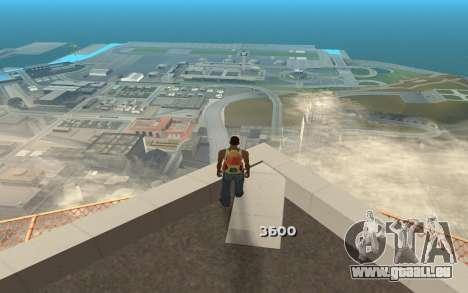 Changement de gamme de rendu pour GTA San Andreas quatrième écran