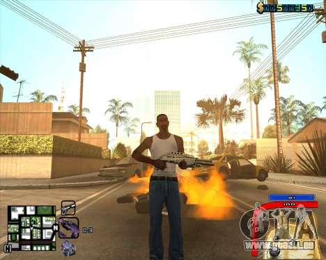 C-HUD by Mark Osborne für GTA San Andreas