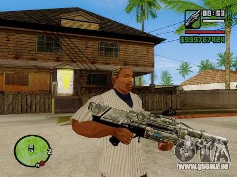 M-86 Sabre v.2 pour GTA San Andreas deuxième écran