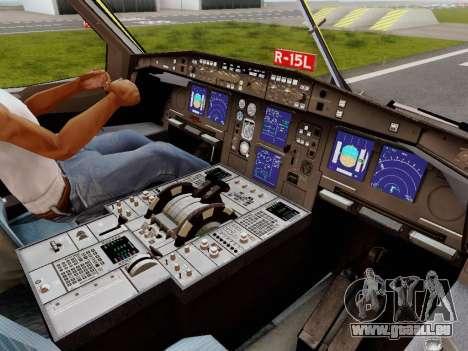 Airbus A340-600F DHL Buffalo für GTA San Andreas Innen