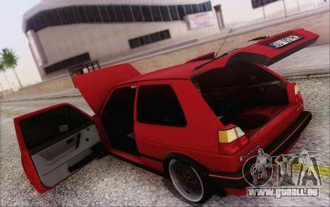 Volkswagen Golf Mk 2 für GTA San Andreas Seitenansicht