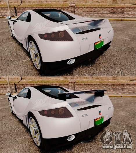 GTA Spano für GTA 4 Unteransicht