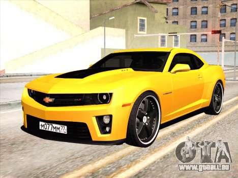 Chevrolet Camaro ZL1 2011 für GTA San Andreas