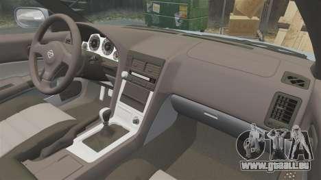 Nissan Skyline ER34 GT25 pour GTA 4 est un côté