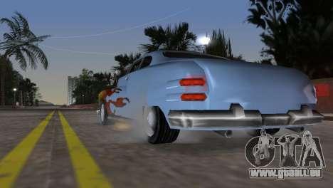 Hermes GTA VCS pour GTA Vice City sur la vue arrière gauche