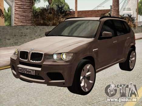 BMW X5M E70 2010 für GTA San Andreas linke Ansicht