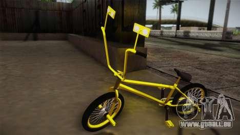 New BMX Yellow pour GTA San Andreas