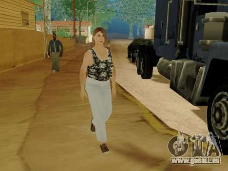 Une femme âgée v.2 pour GTA San Andreas dixième écran
